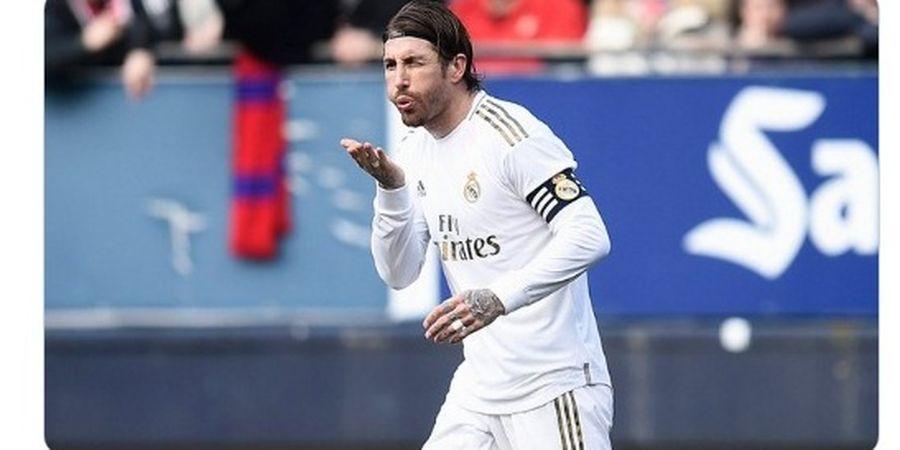 Rivaldo Kirim Pesan ke Sergio Ramos di Tengah Spekulasi Transfer Manchester United