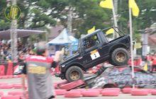 Off-Roader Jogja Berjaya Di Super Adventure Monster Road Serang