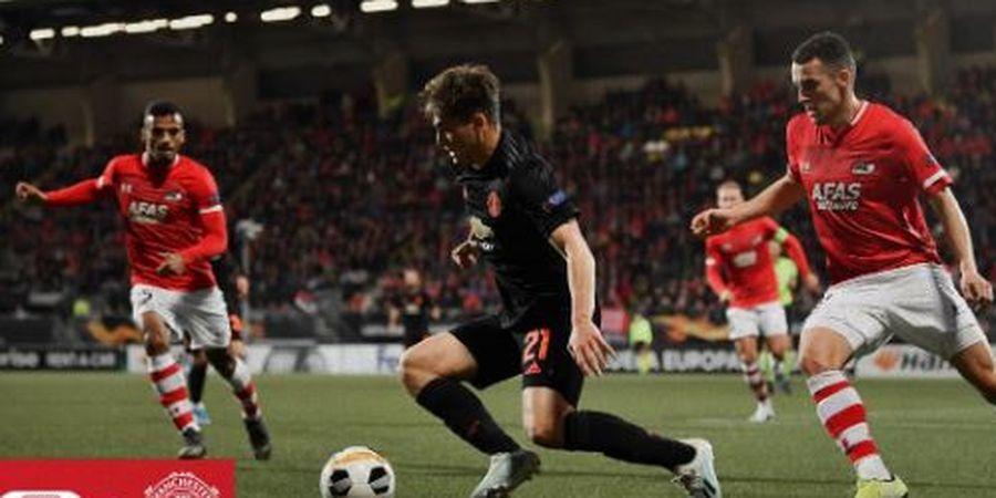 VIDEO - Bintang Muda Manchester United Pingsan Setelah Dihantam
