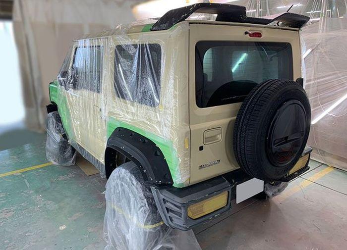 Proses pengerjaan Suzuki Jimny terbaru garapan Wald