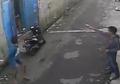 Dua Begal Motor Nyungsep Ditembak, Acungkan Pistol dan Melawan Polisi