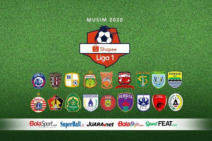 Ilustrasi berita Shopee Liga 1 2020.