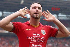 Musim Ini, Pemain Persija Marko Simic Kalahkan Raja Gol Liga 1 Lainnya