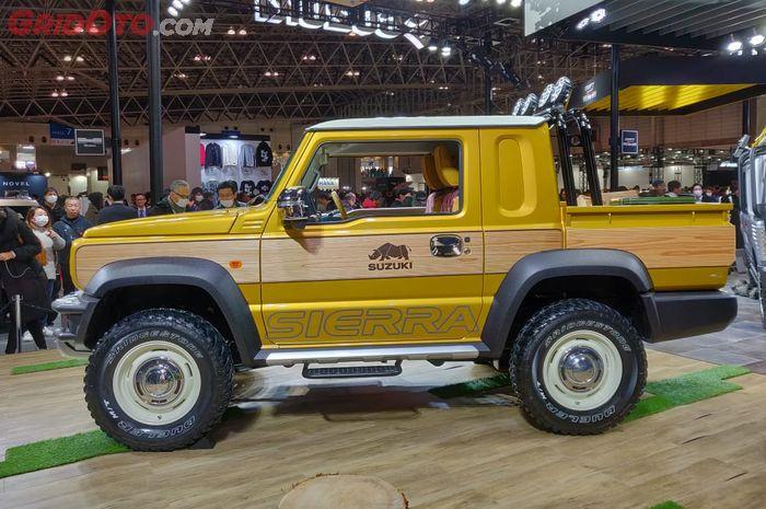 Modifikasi Suzuki Jimny Siera jadi pikap