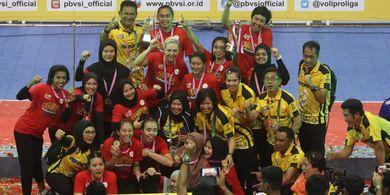 Gelar Juara Proliga 2019 Jakarta PGN Popsivo Polwan Sesuai Ekspektasi