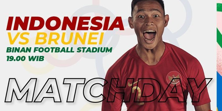 Link Streaming Timnas U-22 Indonesia Vs Brunei di SEA Games 2019