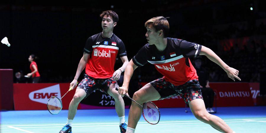 Hasil Japan Open 2019 - Marcus/Kevin Menang, Indonesia Pastikan 1 Gelar Juara