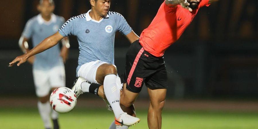 Sulut united Imbangi Borneo FC di Samarinda