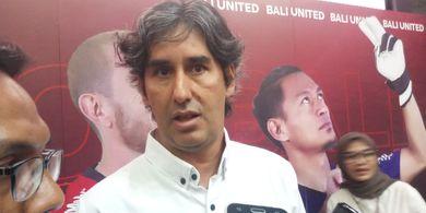 Saham Bali United Melantai, Teco Inginkan Perbaikan Fasilitas Tim