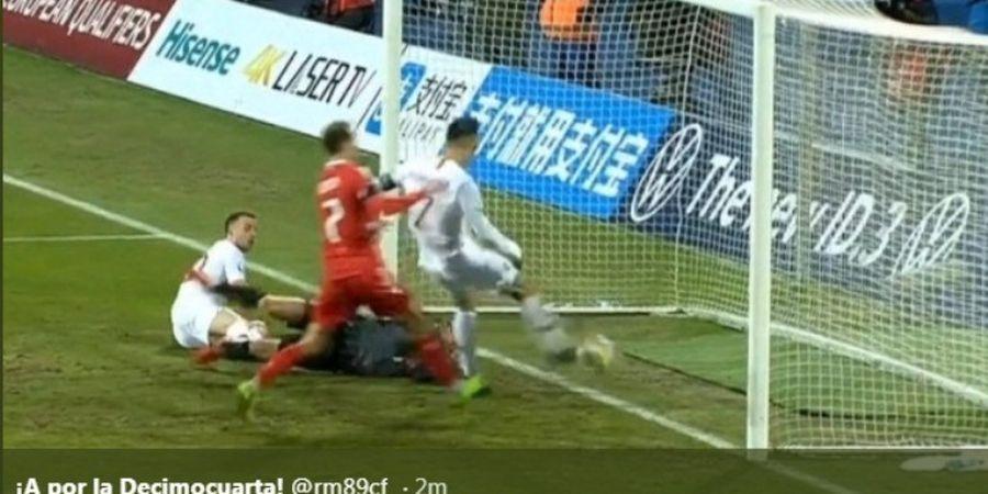 VIDEO - Cristiano Ronaldo 'Mencuri' Gol Teman Sendiri?