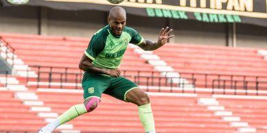 David da Silva Gelontorkan Gol untuk Persebaya: Yang Penting Tim Menang