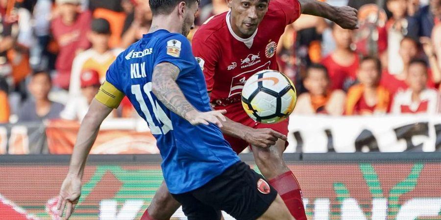Pelatih Persija Puji Penampilan Bruno Matos saat Kontra PSM Makassar