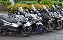 Forza, PCX 150 dan Vario 150 Ngumpul Bareng, Di Honda Premium Matic Day