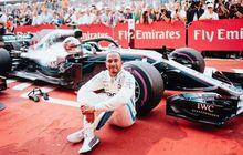 Luar Biasa! Hamilton Juara  F1 Jerman. Padahal Start Dari Posisi 14