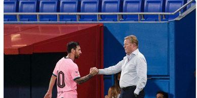 Barcelona Vs Ferencvaros - Ronald Koeman Sebut Lionel Messi Akan Buktikan Kualitas