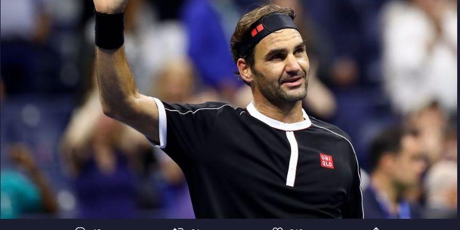 Federer Usulkan Organisasi WTA dan ATP Disatukan Saat Pandemi Covid-19