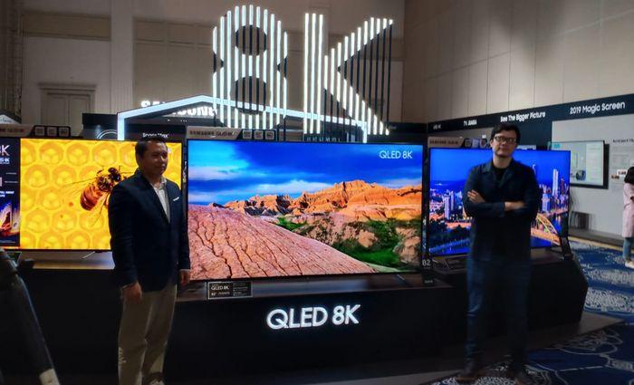 Samsung Hadirkan QLED 8K TV Pertama di Dunia, Ini Keunggulannya
