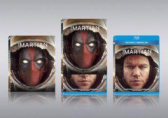 """Kocak! Deadpool Kembali """"Membajak"""" Film-Film Terkenal Untuk Jadi Cover"""