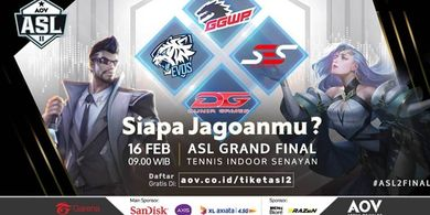 4 Tim Terbaik Melangkah ke Grand Final AOV Star League Season 2
