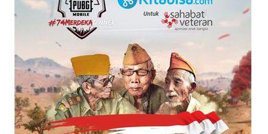 PUBG Mobile Berdonasi untuk Veteran Indonesia Lewat #74 MERDEKA DINNER