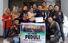 Perwakilan All Bikers Bandung Lakukan Ini di Jalan Asia Afrika, Bandung