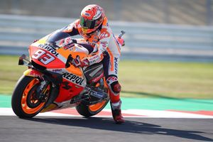 Hasil MotoGP San Marino 2019 - Tikung Quartararo di Lap Terakhir, Marc Marquez Juara