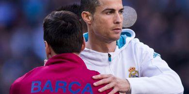 Akun Twitter Barcelona dan Juventus Debat Soal Messi dan Ronaldo