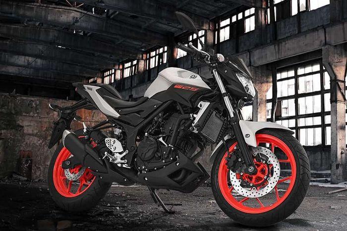 Salah ssatu warna baru Yamaha MT-25