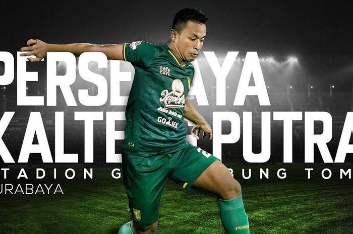 Live streaming Persebaya Surabaya Vs Kalteng Putra pada pekan kedua Liga 1 2019.