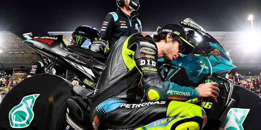 Satu Hal Ini Bikin Valentino Rossi Ngacir di MotoGP Doha 2021