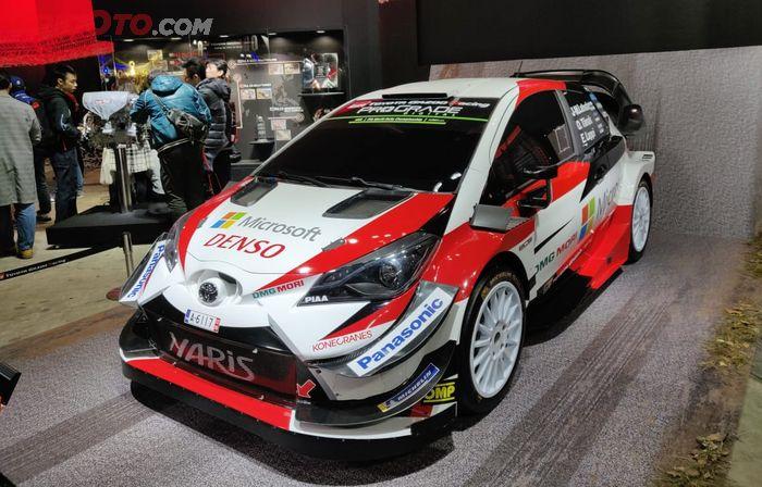 Toyota Yaris yang berlaga di ajang WRC