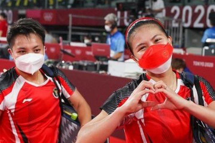 Indonesia Raih Medali Emas Olimpiade Tokyo 2020, Greysia/Apriyani Bikin Bangga!