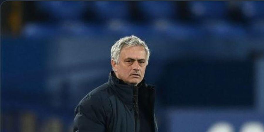Mulai Sangar, Jose Mourinho Bentak Pemain Muda AS Roma