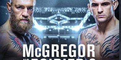 Jadwal UFC 257 - Deja Vu Conor McGregor Versus Dustin Poirier