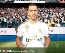 Sudah Gabung Real Madrid, Eden Hazard Belum Move On dari Chelsea?
