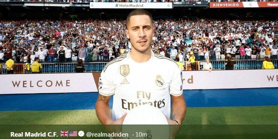 Hazard Akan Singkirkan Bale untuk Jadi Pemain Terpenting Real Madrid