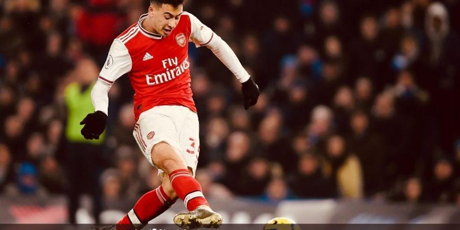 VIDEO - Bocah Ajaib Arsenal Bikin Gol Keren karena Kante Terpeleset