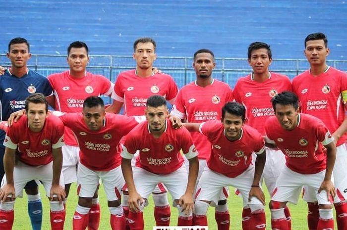 Skuat Semen Padang dalam persiapan Piala Presiden 2019.