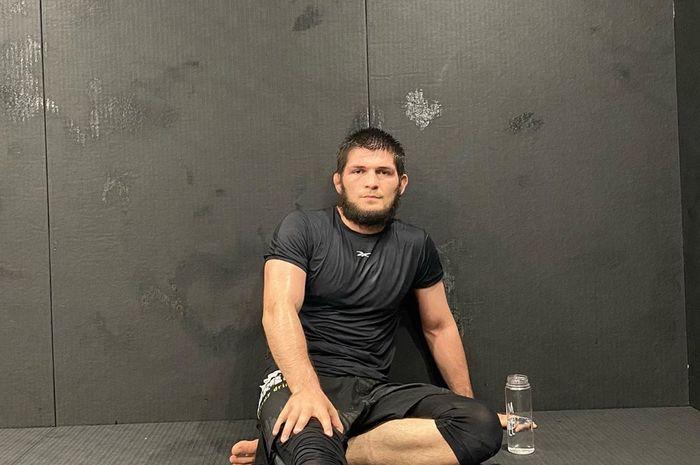 Juara bertahan UFC kelas ringan, Khabib Nurmagomedov.