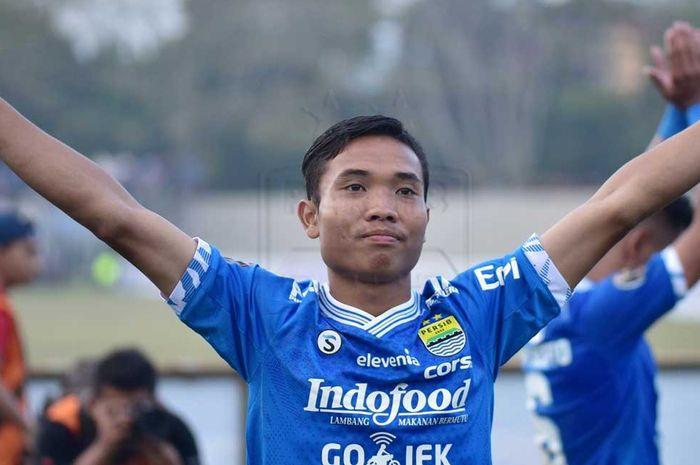 Mario Jardel, pemain muda Persib Bandung yang sudah dipromosikan ke tim utama.