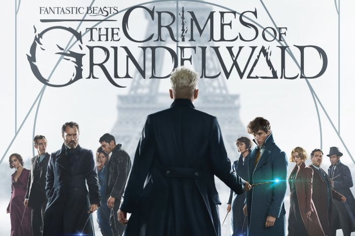 Poster film Fantastic Beasts The Crimes of Grindelwald