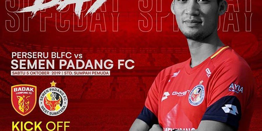 Link Streaming Perseru Badak Lampung Vs Semen Padang, Pekan 22 Liga 1