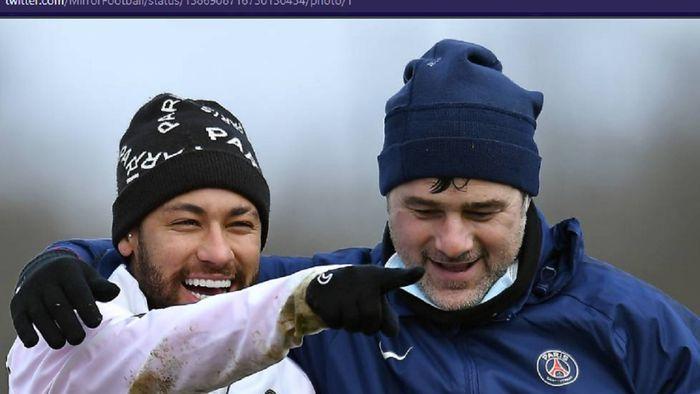 Pelatih Paris Saint-Germain, Mauricio Pochettino, menepis anggapan yang banyak beredar bahwa Neymar adalah pemain yang sulit diatur.