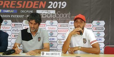 Teco Sebut Bali United Siap Hadapi Kalteng Putra Meski Recovery Sempit