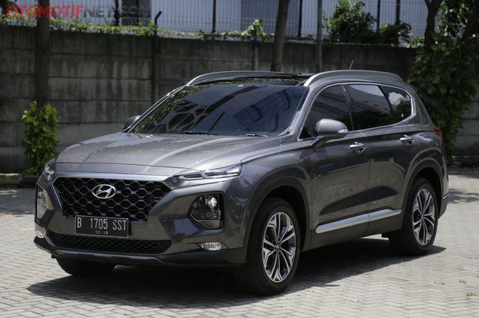 Inilah tampang Hyundai Santa Fe XG CDRi