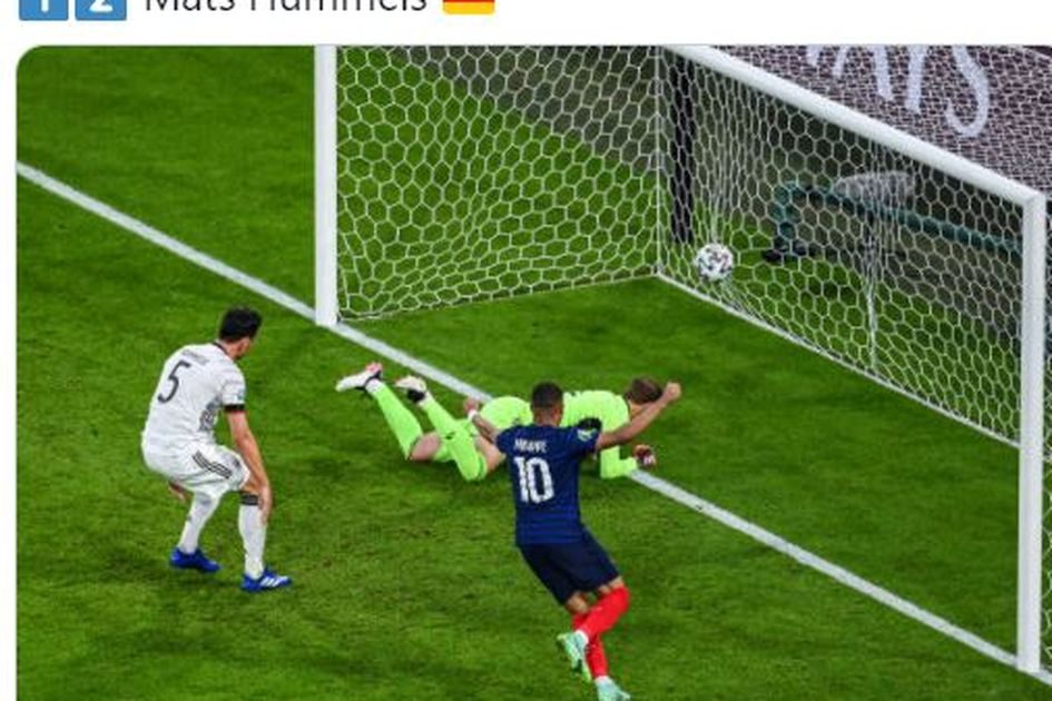 Rekor EURO 2020 - Menang via Gol Bunuh Diri, Prancis Lupa Rasanya Kalah di Kandang Jerman