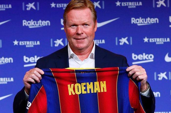 Pelatih anyar Barcelona, Ronald Koeman.