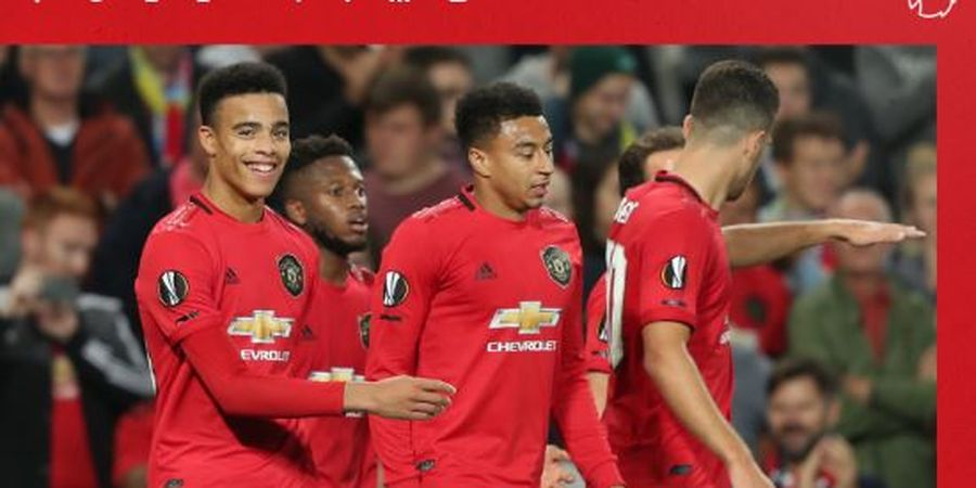 Susunan Pemain Man United Vs Partizan - Trio Martial-Rashford-Greenwood Starter