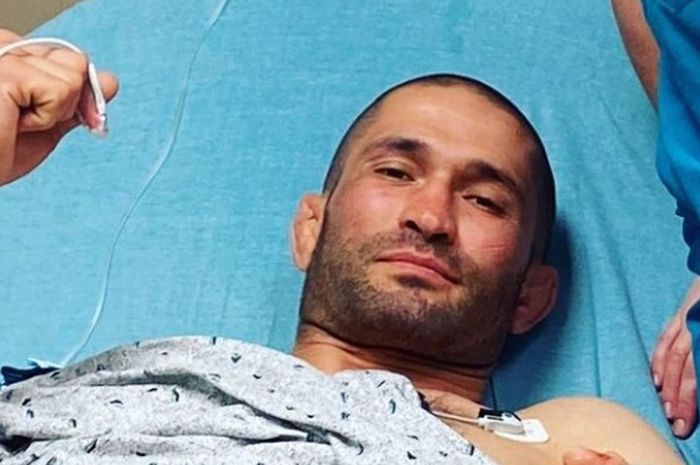 Petarung MMA yang siap direkrut UFC, Khetag Pliev.