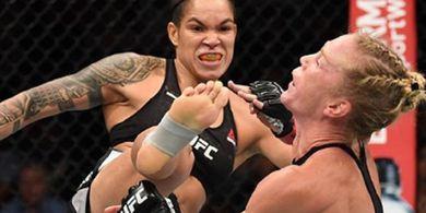Kelewat Garang di UFC, Amanda Nunes Samai Level Seorang Legenda